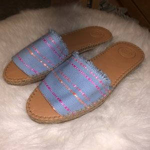 NEW woven sandals!!